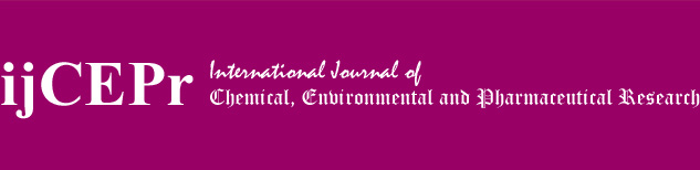International Journal of Chemical, Environmental and Pharmaceutical Research